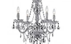 Silver Chandeliers