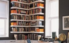 Bookshelves Designs For Home