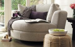 Cuddler Swivel Sofa Chairs