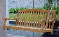 Teak Porch Swings