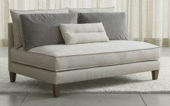 Small Armless Sofas