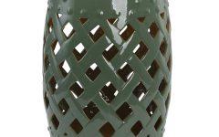 Tillia Ceramic Garden Stools