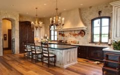 Small Rustic Kitchen Chandeliers