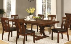 Transitional 6-seating Casual Dining Tables
