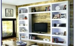 Tv Bookcases Combination