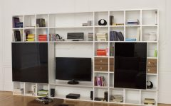 Tv Bookcases Unit