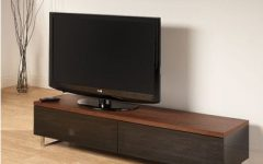 Techlink Panorama Walnut Tv Stands