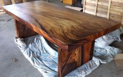 Unique Acacia Wood Dining Tables