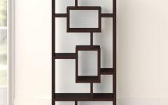 Vaccaro Geometric Bookcases