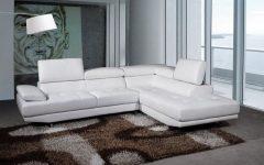 White Leather Corner Sofas