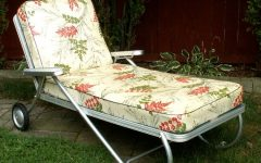 Vintage Outdoor Chaise Lounge Chairs