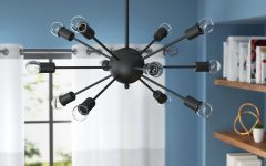Vroman 12-light Sputnik Chandeliers