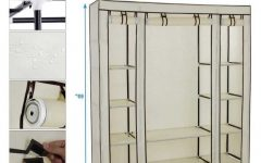 Large Double Rail Wardrobes