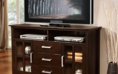 Carbon Wide Tv Stands