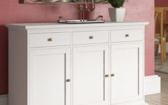 """Laux 56.57"""" Wide 3 Drawer Sideboards"""