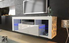 Scandi 2 Drawer White Tv Media Unit Stands