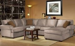 3 Piece Sectional Sofas with Chaise