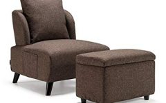 Sofa Chair With Ottoman