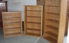 Oak Bookshelves