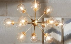 Asher 12-light Sputnik Chandeliers
