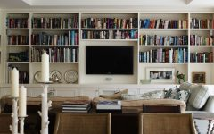 Built in Tv Bookcases