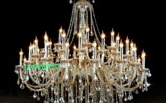 Huge Crystal Chandeliers