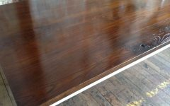 Dining Tables with Stained Ash Walnut
