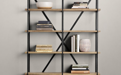 Iron And Wood Bookcases