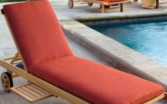 Sunbrella Chaise Lounge Cushions