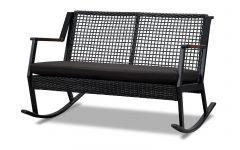 Rocking Benches with Cushions