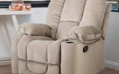 Gannon Linen Power Swivel Recliners