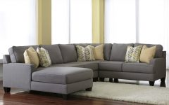 Gray Sectional Sofas with Chaise