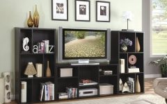 Tv Stand Bookcases Combo