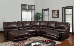 Leather Recliner Sectional Sofas