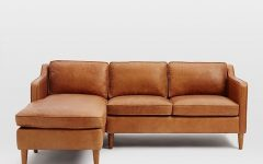 Leather Chaise Sectionals