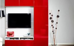 Red Tv Units
