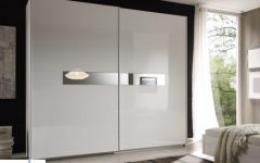 White High Gloss Sliding Wardrobes