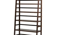 Wide Ladder Bookcases