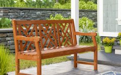 Amabel Wooden Garden Benches
