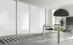 White Gloss Sliding Wardrobes