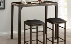 Lillard 3 Piece Breakfast Nook Dining Sets