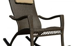 Rattan Outdoor Rocking Chairs
