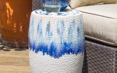 Wurster Ceramic Drip Garden Stools