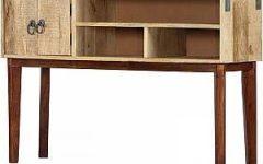 "Zinaida 59"" Wide Mango Wood Buffet Tables"